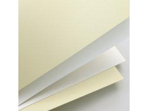 ozdobný papír Hladký bílá 250g, 20ks