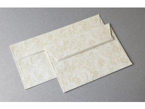 obálky DL Růže ivory 120g, 10ks