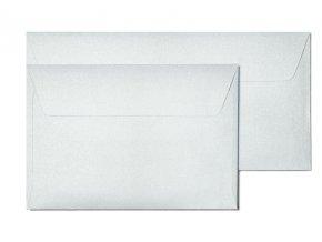 obálky B7 Iceland stříbrná 120g, 10ks