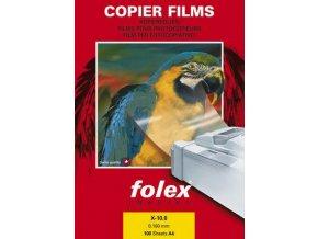 Folex X-10.0 - čirá fólie A4