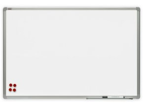 Bílá magnetická tabule Premium 90x60