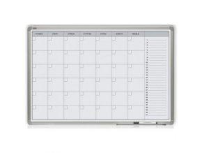 Měsíční plánovací tabule 60x90 magnetická