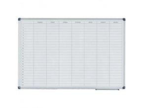 Týdenní plánovací tabule 60x90 magnetická