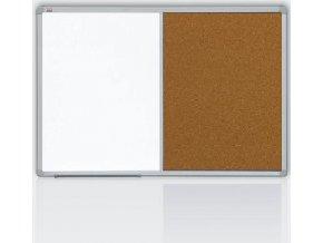 Kombinovaná tabule 90x120 korek/magnet