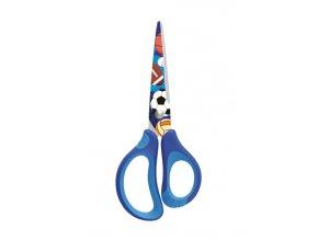 Nůžky KEYROAD Tattoo 15cm, modrá