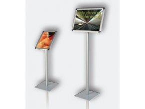 Informační tabule na stojanu, výška 120cm, A3 na šířku
