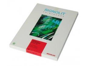 Signolit SC 46 - bílá lesklá samolepka A4