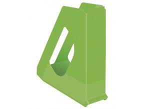 stojan na casopisy esselte vivida zeleny 7236