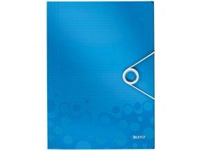 desky na spisy leitz wow modre 3923