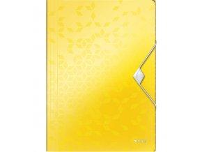 desky na spisy leitz wow zlute 20314