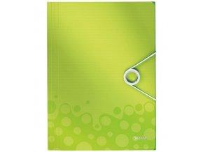desky na spisy leitz wow zelene 3929