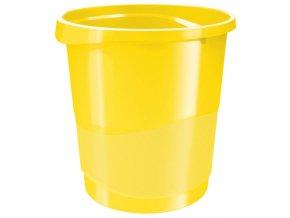 kos odpadkovy esselte vivida zluty 7156