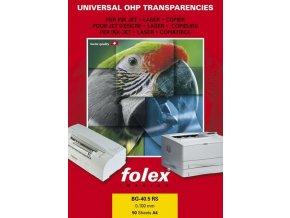 Folex BG-32.5 Plus A4 - čirá fólie se senzorovým proužkem
