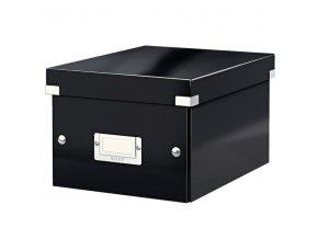 univerzalni krabice click n store s cerna 3808