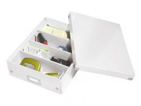 organizacni krabice click n store bila a4 4323