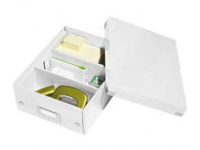organizacni krabice click n store bila a5 4339