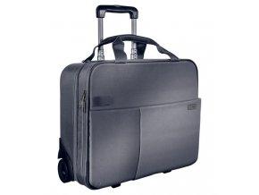 kufr na koleckach leitz complete na 2 koleckach stribrny 12885