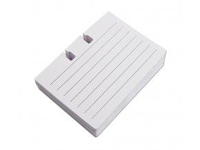 Papírové poznámkové kartičky pro pořadač ICO Rotacard