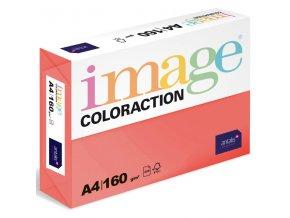 barevny papir image coloraction a4 160g intenzivni jahodove cervena 250 ks 5891