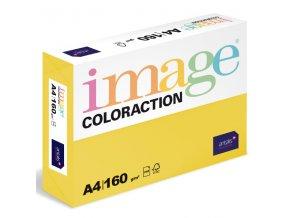 barevny papir image coloraction a4 160g intenzivni syta zluta 250 ks 5890