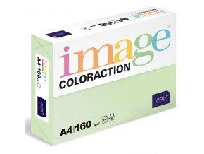 barevny papir image coloraction a4 160g pastelove svetle zelena 250 ks 5900 (1)