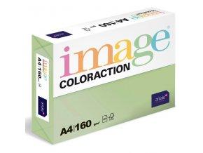 barevny papir image coloraction a4 160g pastelove zelena 250 ks 5898