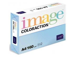 barevny papir image coloraction a4 160g pastelova ledove modra 250 ks 5895