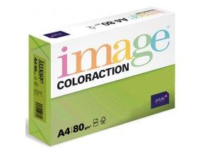 barevny papir image coloraction a4 80g stredne zelena 500 ks 958