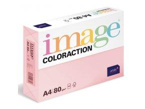 barevny papir image coloraction a4 80g pastelova pastelove ruzova 500 ks 939