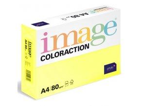 barevny papir image coloraction a4 80g pastelova citronove zluta 500 ks 954