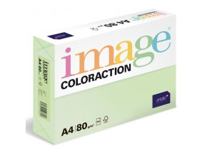 barevny papir image coloraction a4 80g pastelove svetle zelena 500 ks 960