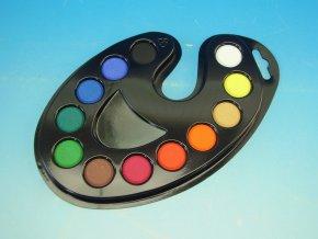 Vodové barvy 171526, paleta