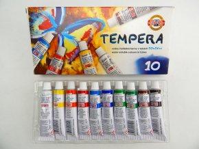 Temperové barvy MOTÝL, 10x16 ml