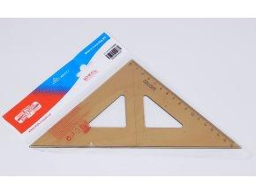 Trojúhelník s kolmicí kouřový