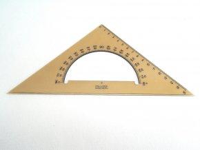 Trojúhelník 45/177 s úhloměrem