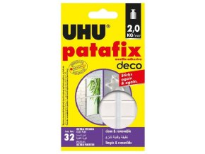 Samolepicí snímatelná guma Patafix Homedeco 32 ks