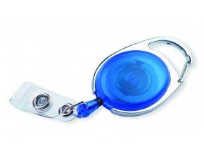 Naviják OVAL pro visačky modrý 10ks