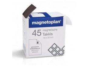 Samolepící magnety Magnetoplan Takkis, 45ks