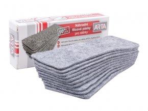 Náhradní filcy ARTA pro stěrky SLIM a DUO, 10 ks