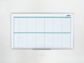 Plánovací tabule AVELI, kalendářní, 104x60 cm