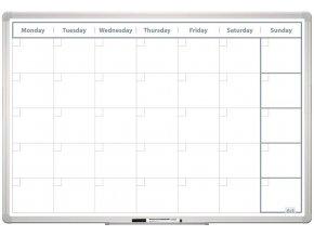 Měsíční plánovací tabule 60x90 ENG New design