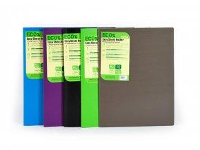Desky na spisy ECO% EASY SHEET HOLDER, A4 fialová