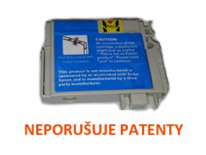 Cartridge Epson C13T12824010 cyan - kompatibilní 13ml
