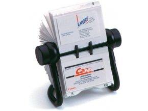 Otočný pořadač na vizitky Rotacard AV-450 černý