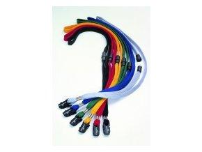 Textilní páska DURABLE s bezpečnostní pojistkou, modrá