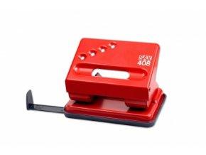 Děrovačka SAX 408, červená
