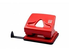 Děrovačka SAX 406, červená