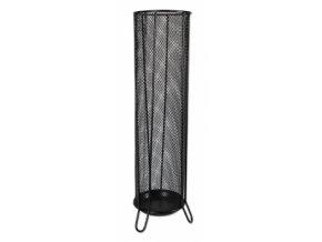 Kovový stojan na deštníky ICO, černý