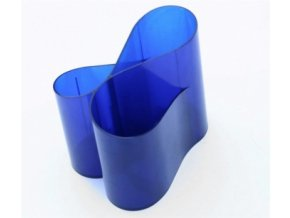 Stojánek na tužky ICO Lux, modrý