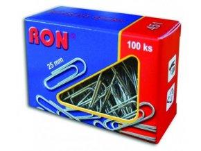 Dopisová spona RON 451 25 mm, 100 ks